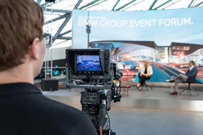 BMW Welt bietet Studios für digitale Eventformate