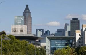 Frankfurter Messegelände fährt hoch