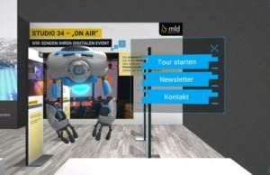 mld digits stellt virtuellen Messestand vor