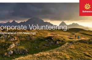 Switzerland Convention & Incentive Bureau lädt zum Corporate Volunteering ein