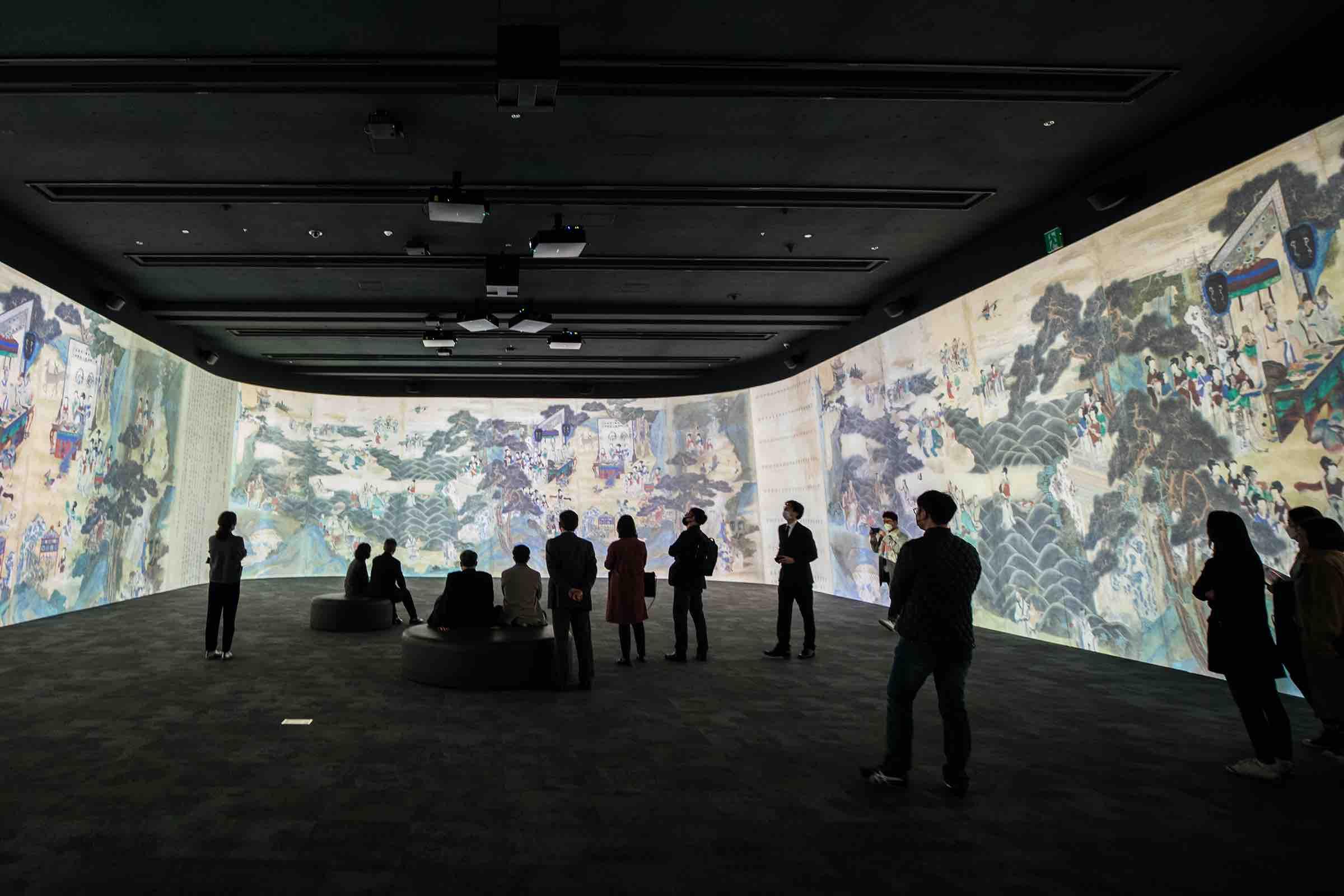 Immersive Digital Gallery im Koreanischen Nationalmuseum eröffnet