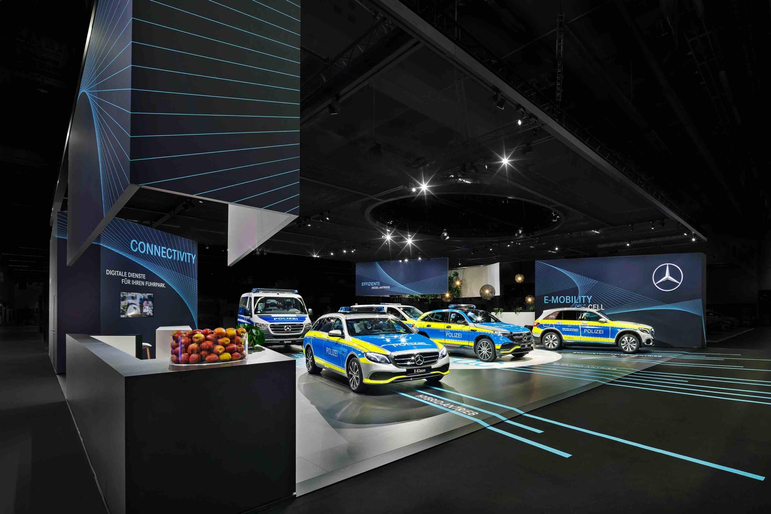 Mercedes-Benz für nachhaltigen Messeauftritt ausgezeichnet