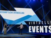Virtuelles Studio von Sinus Event-Technik und studio :3