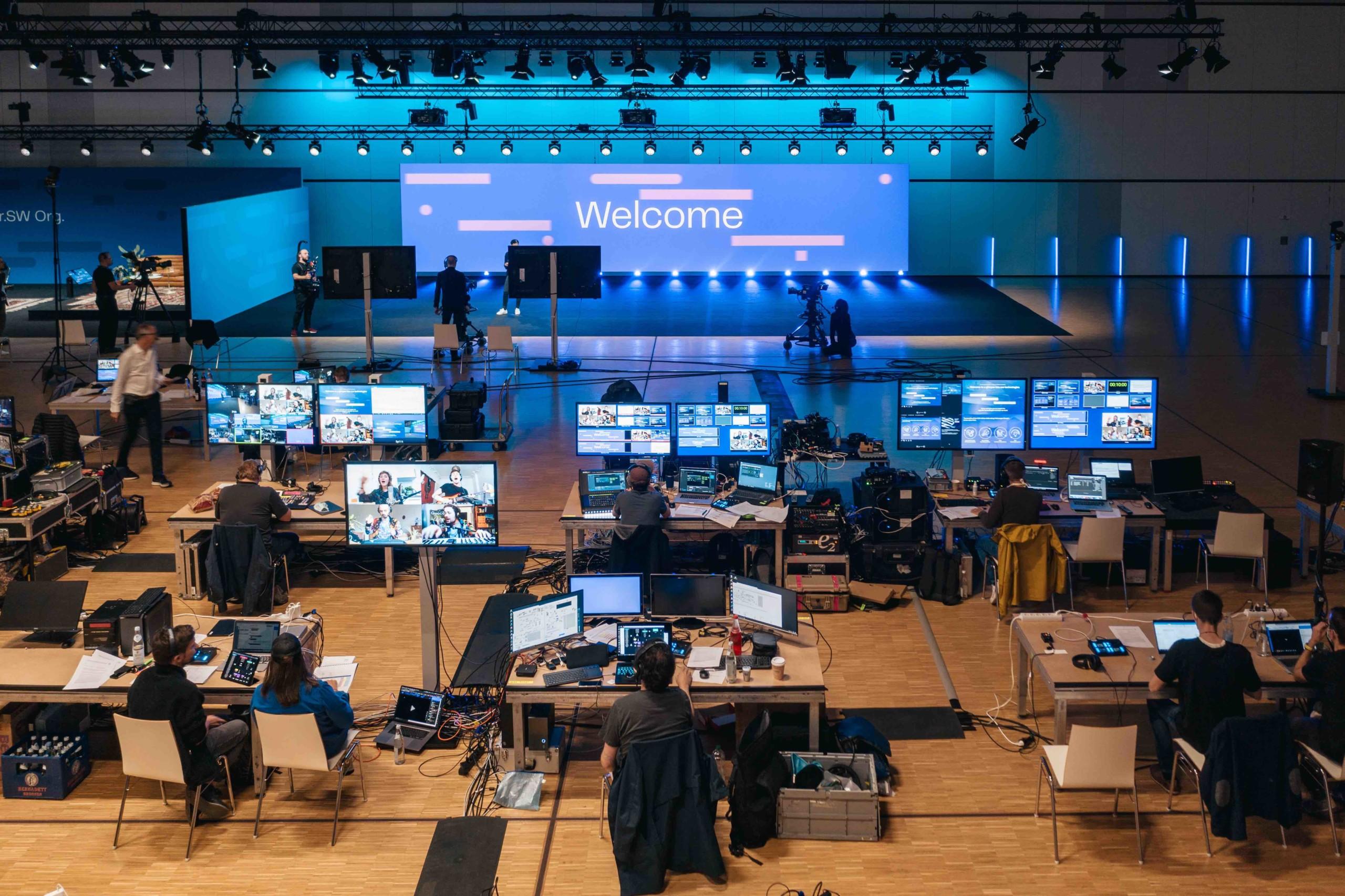 Spreefreunde inszenieren Tech Show für Volkswagen Car.Software-Organisation