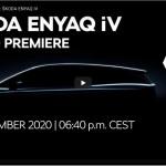 Weltpremiere des neuen ENYAQ iV findet heute in Prag statt