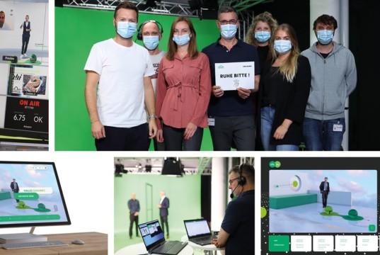 Vok Dams realisiert digitalen Event für Grünenthal